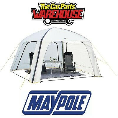 Maypole Air Event Shelter MP9522 3.6M X 3.6M Air Beam Side Panels Gazebo Canopy • 329.95£