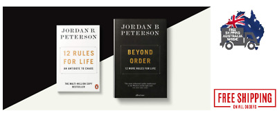 AU15.40 • Buy 12 Rules For Life-An Antidote To Chaos Paperback By Jordan B. Peterson 2019 Book