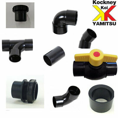 £6.50 • Buy Solvent Weld 2  Pipe And Filter Fittings For Garden Ponds