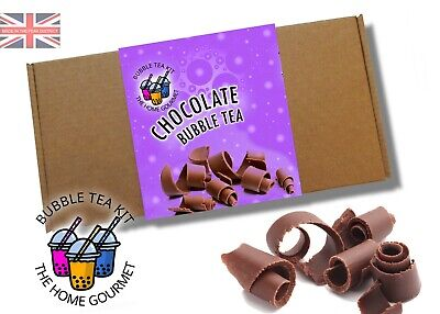 Bubble Tea Making Kit For Beginners - Chocolate Flavour • 8.99£