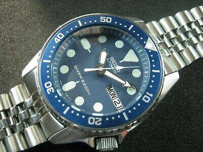 $ CDN344.63 • Buy SEIKO SKX013 Mod 'Batman' NH36 Water Proof Tested Jr./Medium Size A1 Condition
