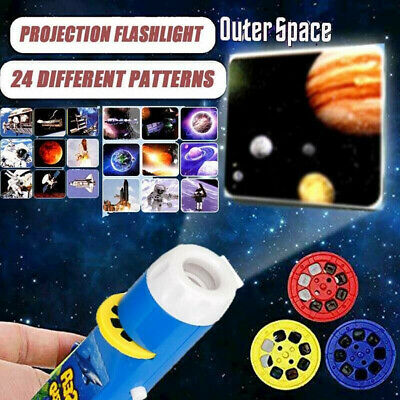£6.64 • Buy Mini Projector Flashlight Torch Educational Light-up Toys For Kids Children Gift