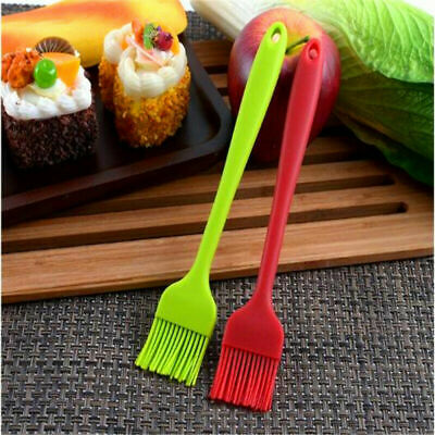 Silicone Pastry BRUSH Baking BBQ Basting Oil Pastry Cooking Bakeware Utensil • 1.25£