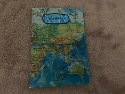 £10 • Buy Ladies Mens Girls Boys World Map Passport Case Cover Wallet Travel Holiday