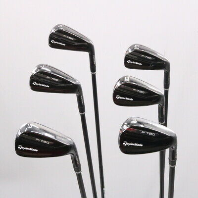 TaylorMade P790 Black Iron Set 5-P AMT Tour White R300 Steel Regular Flex 78416D • 761.11£
