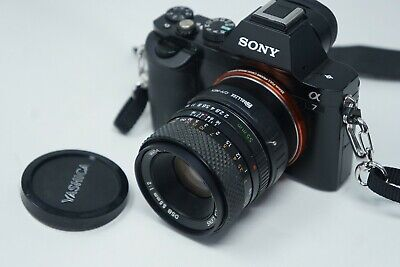 $ CDN73.90 • Buy Sony E Mount Adapted 55mm F2 Yashica Prime Lens All A7 Nex,a6000