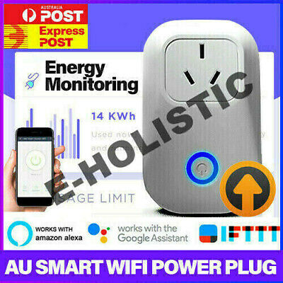 AU23.95 • Buy Wireless Wifi Smart Power Plug Socket Switch For Amazon Echo Alexa Google Home