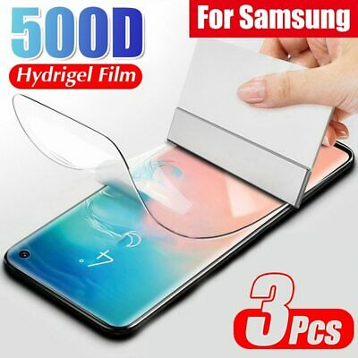 $ CDN4.46 • Buy 3x For Samsung Galaxy S20 S10 S9 S21 Note 20 10 Plus Screen Protector HYDROGEL