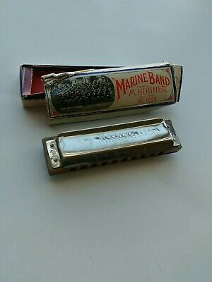 $34.99 • Buy (Used) Vintage Marine Band M.Hohner Harmonica A440 Made In Germany