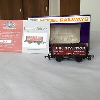 £12.50 • Buy Dapol/ 1E Promotionals.. J G Stanton No.22 Coal Wagon. Limited Edition