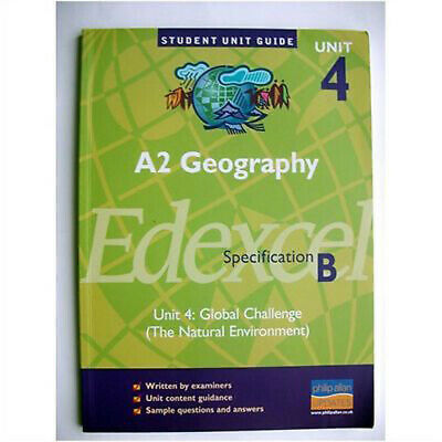 £3.36 • Buy A2 Geography Unit 4 Edexcel Specification B Global  By Sue Warn Paperback