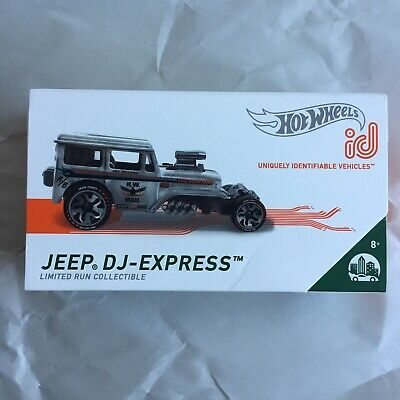 $12.95 • Buy Hot Wheels Jeep DJ-Express Mail Truck ID Car Limited Run Collectible New In Box