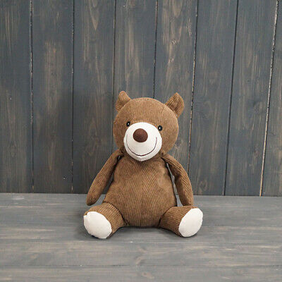 £17.99 • Buy Satchville Brown Teddy Bear Door Stop Stopper Wedge Fabric Filled Heavy Weighted