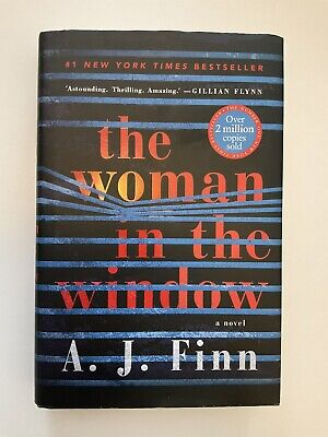 AU19 • Buy The Woman In The Window, Hardcover, A.J. Finn / Made Into A Major Motion Picture