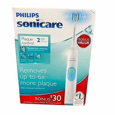AU35.94 • Buy Philips Sonicare Series 2 Plaque Control Toothbrush Rechargeable New White