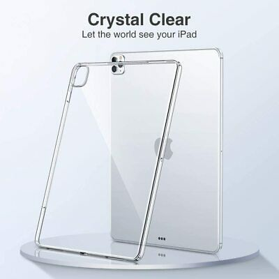 AU7.25 • Buy New IPad 10.2 Inch 7th 8th Generation Compatible Case Cover Transparent Silicone