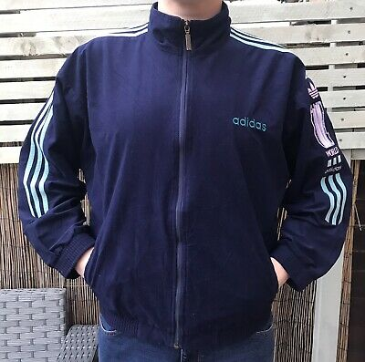 £19.99 • Buy Adidas Originals One World Vintage 80s 90s Made Spain Tracksuit Track Top Size M