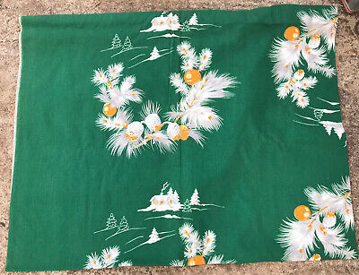 "$ CDN82.49 • Buy Vintage Wilendur Christmas Tablecloth....Really Nice...84""x 60"" L@@K"
