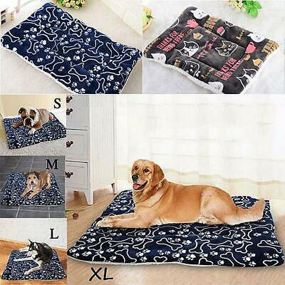 £4.19 • Buy DOG BED Pet Mattress ZIPPED COVER WASHABLE COMFORT CUSHION REMOVABLE Indoor Out