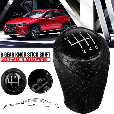 AU18.77 • Buy 6 Speed Manual Gear Stick Shift Knob For Mazda 3 5 6 II GH CX-7 ER MX-5 CX7 MX5