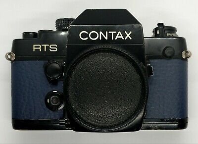 $ CDN19.49 • Buy Replacement Blue Leatherette Skin Cover Grip For Contax RTS II Quartz Camera