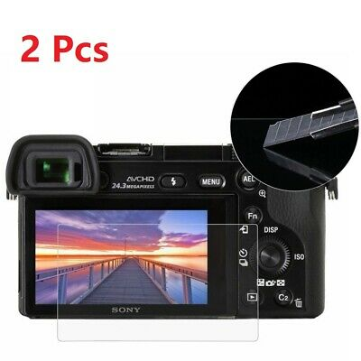 AU12.99 • Buy 2pcs 2.5D 9H Tempered Glass Screen Cover Film For Sony A6500 A6300 A6000