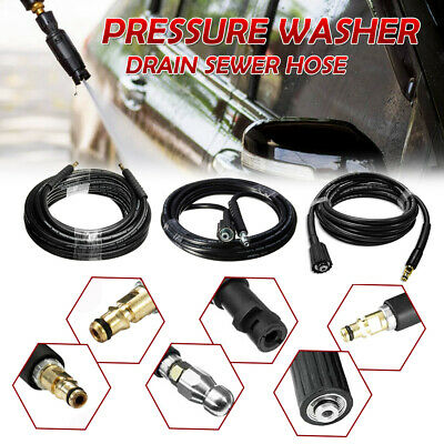 £14.99 • Buy 6/10m High Pressure Washer Replacement Pipe Cleaning Hose For Karcher K2 Cleaner