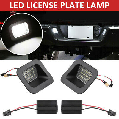$13.99 • Buy SMOKED SMD LED Rear License Plate Lights For Dodge Ram 1500 2500 3500 2003-2018