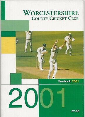 £3.99 • Buy 2001 Worcestershire County Cricket Club Yearbook