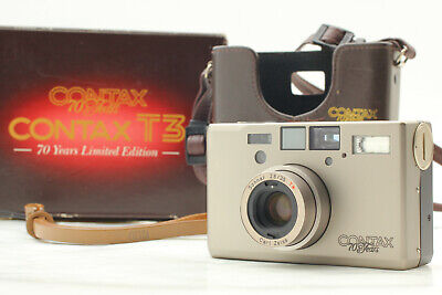 $ CDN3486.13 • Buy [NEAR MINT+++ Boxed] Contax T3 70 Years Limited Point & Shoot Double Teeth JAPAN