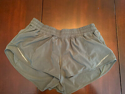$ CDN57 • Buy Lululemon Hotty Hot Short II Size 12 2.5  Green Dance Run Cycle