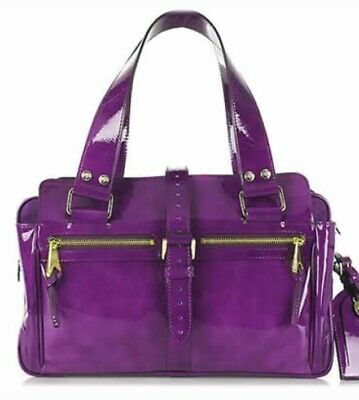 £194 • Buy Mulberry Mabel Patent Leather Bag Used Twice Stunning Rare