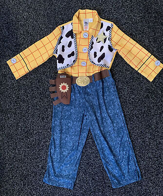 £10 • Buy Kids Toy Story Woody Outfit Age 3-4