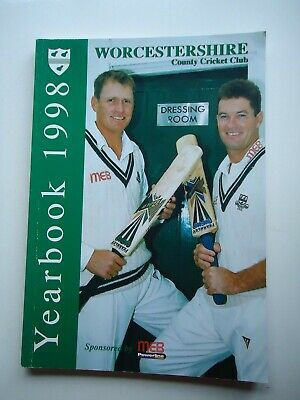 £3.99 • Buy 1998 Worcestershire County Cricket Club Yearbook