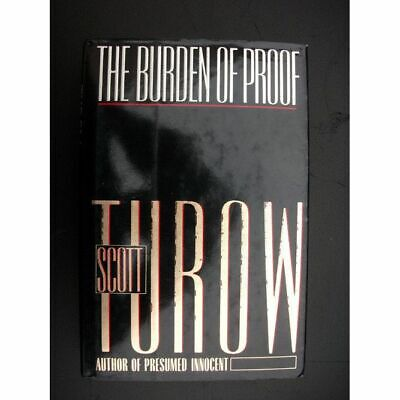 AU9.39 • Buy The Burden Of Proof Book 2 In The Kindle County Series By Scott Turow