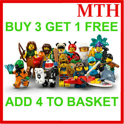 £5.19 • Buy LEGO 71029 SERIES 21 MINIFIGURES (Pick Your Minifigure) Buy 3 Get 1 Free!! NEW