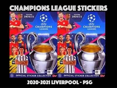 £1.25 • Buy Topps Champions League Stickers 2020-2021 20/21 Liv-psg