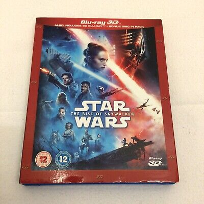 AU44.38 • Buy Star Wars The Rise Of Skywalker Film Bluray BR Movie Region B 3D Bonus 3 Discs