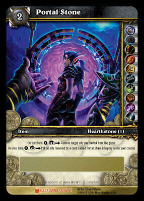 £143.10 • Buy WOW World Of Warcraft TCG Unscratched Loot Card Portal Stone -  Ethereal Portal