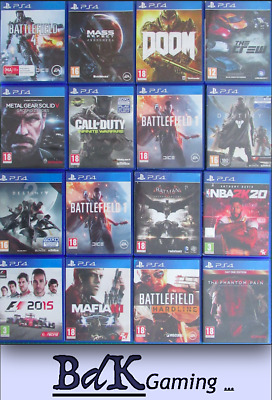£5.49 • Buy Playstation 4 PS4 Games - Build A Bundle Or Find A Title - Multi Listing