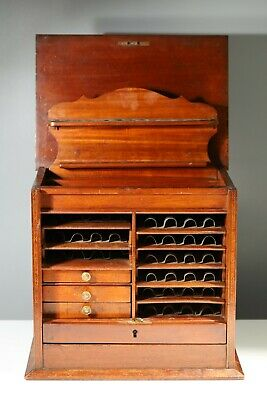 £399 • Buy Antique Carpenters Cabinet Drawers Haberdashery Collectors Specimen Chest