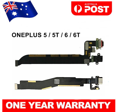 AU18.50 • Buy New Charging Charger Dock USB Port Flex Cable Replacement For OnePlus 5 5T 6 6T