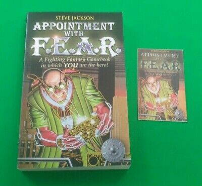 AU24.09 • Buy Appointment With F.E.A.R. ***VGC WIZARD EDITION!!*** Fighting Fantasy #1