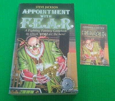 AU24.09 • Buy Appointment With F.E.A.R. ***VGC SPECIAL EDITION!!*** Fighting Fantasy Wizard #2
