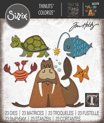 £11 • Buy NEW Sizzix Under The Sea 2 Die Set -  Colorize By Tim Holtz
