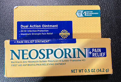 £6.73 • Buy Neosporin + Pain Relief Dual Action Antibiotic Ointment, 0.5 Oz  EXP 04/22