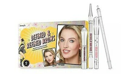 £24.50 • Buy Benefit Defined And Refined Brows Kit Shade 2 Eyebrow Kit