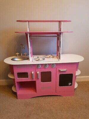 £40 • Buy ELC Early Learning Centre Wooden Retro Diner Kitchen Plus Amazing Accessories.