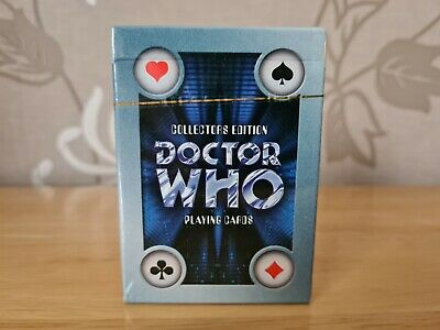 £18 • Buy Collectors Edition Doctor Who Playing Cards Brand New Sealed Cards Inc BBC 1996