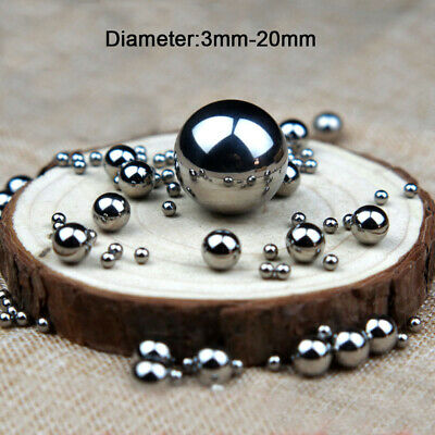 AU7.96 • Buy 304 Stainless Steel Ball Dia 3mm-20mm High Precision Bearing Balls Smooth Ball